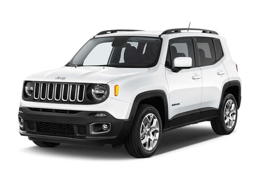Jeep Renegade te huur bij yes rent a car